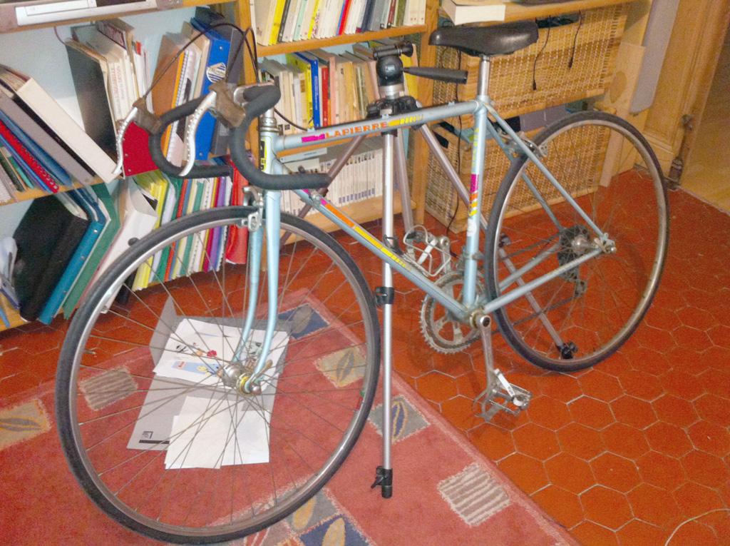 mon nouveu vieux vélo, avant décrassage.