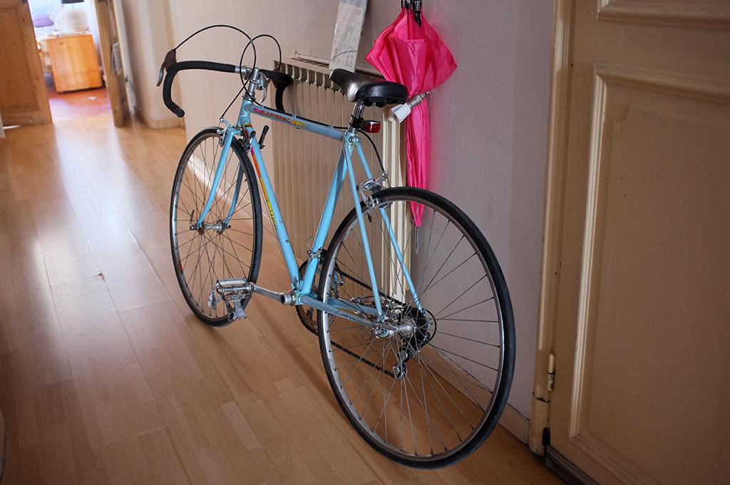 mon nouveau vieux vélo, à neuf.