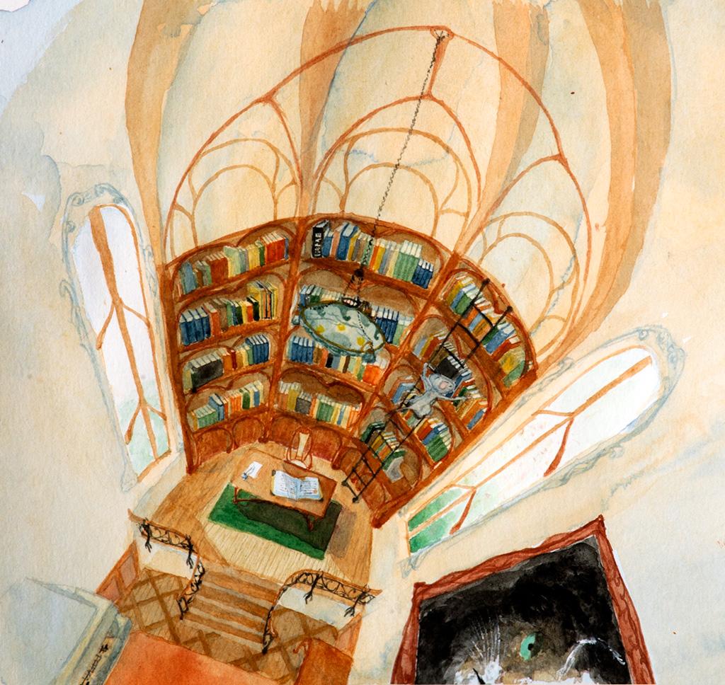 Bibliothèque achevée