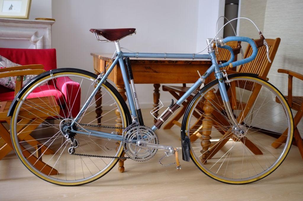 Vélo Bleu, vue générale.