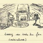 Lenny au coin du feu