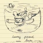 Lenny prend un bain - 1ère version