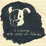 Lenny en noir et blanc