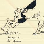 Lenny à la ferme