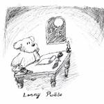 Lenny, par la muse inspirée, écrivit ce poême : ploum ploum ploum badaboum