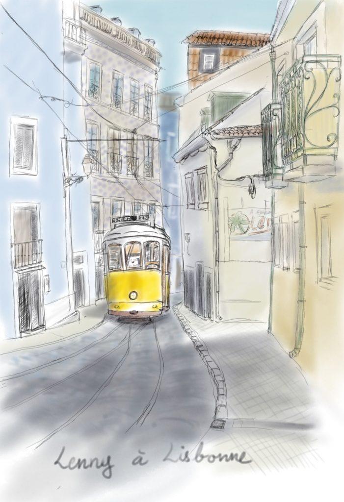 Lenny à Lisbonne