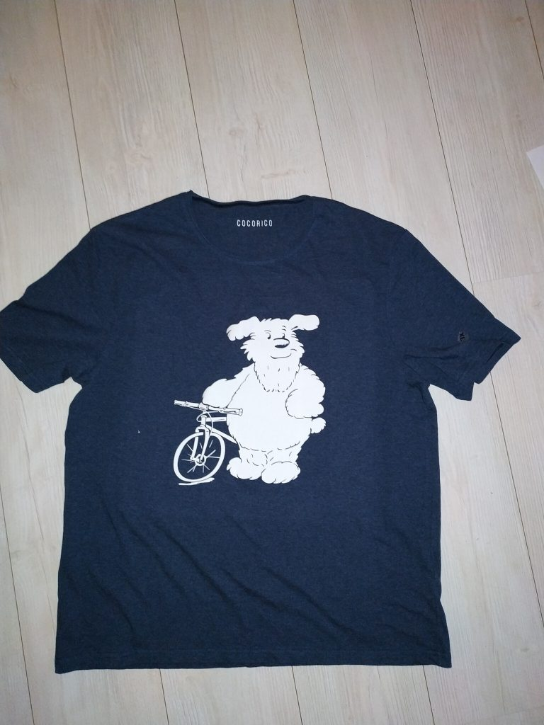 Lenny cycliste (barbu)